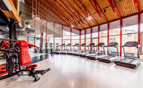 Ремонт фитнес-центров под ключ в Москве