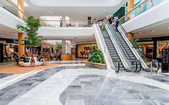 Ремонт торговых центров в Москве